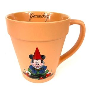 Disney Mickey Gnome Flowerpot Coffee Cup